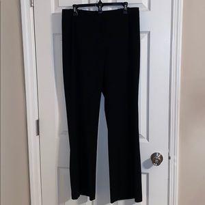 Ann Taylor Loft Julie Black Pant Size 10